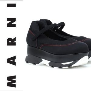 MARNI ☯️ 90s Platform Scuba Mary Janes